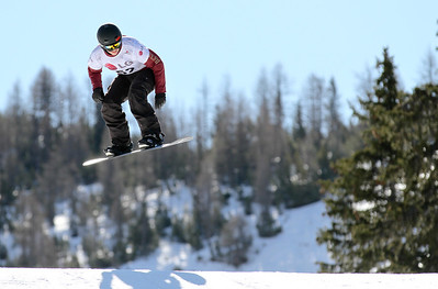 SBX World Cup Valmalenco, ITA - Race 1 - Qualifiers - Jenna Feldman (USA)  Photo © Oliver Kraus. Photo may be used for editorial use only.