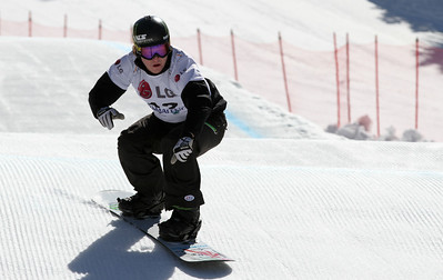 SBX World Cup Valmalenco, ITA - Race 2 - Qualifiers - Nate Holland (USA)  Photo © Oliver Kraus. Photo may be used for editorial use only.
