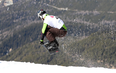 SBX World Cup Valmalenco, ITA - Race 1 - Qualifiers - Kevin Leahy (USA)  Photo © Oliver Kraus. Photo may be used for editorial use only.
