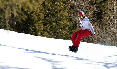 SBX World Cup Valmalenco, ITA - Race 2 - Qualifiers - Alex Tuttle (USA) Photo © Oliver Kraus. Photo may be used for editorial use only.