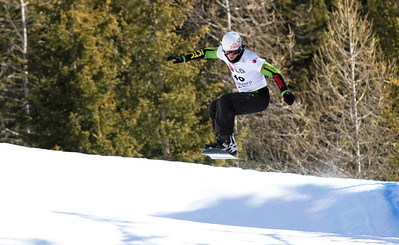 SBX World Cup Valmalenco, ITA - Race 2 - Qualifiers - Chris Mahany (USA) Photo © Oliver Kraus. Photo may be used for editorial use only.