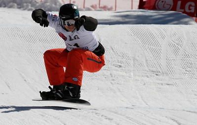 SBX World Cup Valmalenco, ITA - Race 1 - Qualifiers - Jayson Hale (USA)  Photo © Oliver Kraus. Photo may be used for editorial use only.