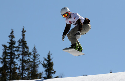 SBX World Cup Valmalenco, ITA - Race 2 - Qualifiers - Michael Perle (USA)  Photo © Oliver Kraus. Photo may be used for editorial use only.