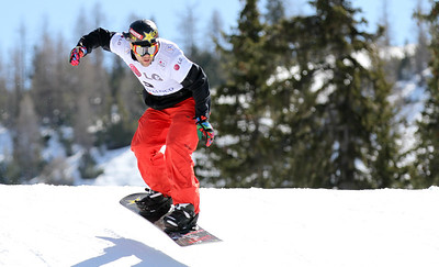 SBX World Cup Valmalenco, ITA - Race 1 - Qualifiers - Nick Baumgartner (USA)  Photo © Oliver Kraus. Photo may be used for editorial use only.