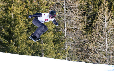 SBX World Cup Valmalenco, ITA - Race 2 - Qualifiers - Faye Gulini (USA)  Photo © Oliver Kraus. Photo may be used for editorial use only.