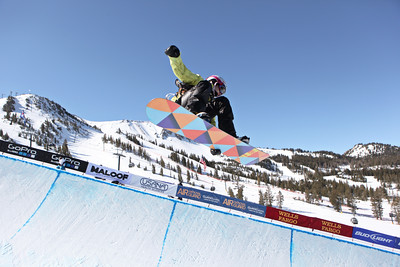 2012 Sprint U.S. Snowboarding Grand Prix at Mammoth Snowboard Halfpipe Finals Brooke Shaw Photo: Sarah Brunson/U.S. Snowboarding