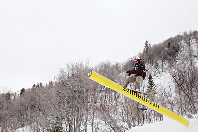 2012 Dew Tour Snowbasin  Snowboard Slopestyle Semi-Final Eric Willett Photo: Sarah Brunson/U.S. Snowboarding