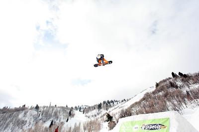 2012 Dew Tour Snowbasin  Snowboard Slopestyle Semi-Final Photo: Sarah Brunson/U.S. Snowboarding