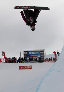 Kaitlyn Farrington 2012 FIS Halfpipe Snowboarding World Cup - Cadrona, New Zealand Photo © Oliver Kraus/FIS Photo may be used for editorial use only