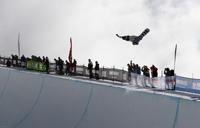 Scotty Lago 2012 FIS Halfpipe Snowboarding World Cup - Cadrona, New Zealand Photo © Oliver Kraus/FIS Photo may be used for editorial use only