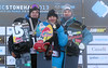 2013 FIS Snowboard World Championships - Men Podium - f.l.t.r.: 2nd Mark McMorris (CAN), 1st Roope Tonteri (FIN), 3rd Janne Korpi (FIN)<br /> Photo © Oliver Kraus/FIS<br /> Photo may be used for editorial purposes only.