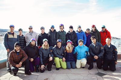2012-13 U.S. Snowboarding Snowboardcross Team Photo: Sarah Brunson/U.S. Snowboarding