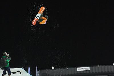 Taku Hiraoka JPN Halfpipe snowboarding Olympic Test Event, Sochi, Russia February 2013 Photo: Mark Epstein/U.S. Snowboarding