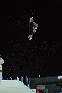 Scotty Lago Halfpipe snowboarding Olympic Test Event, Sochi, Russia February 2013 Photo: Mark Epstein/U.S. Snowboarding