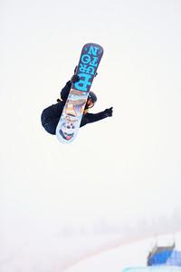 Shaun White Halfpipe qualifications 2013 Sprint U.S. Snowboarding Grand Prix in Park City, Utah Photo: Sarah Brunson/U.S. Snowboarding