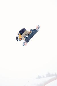 Scotty Lago Halfpipe qualifications 2013 Sprint U.S. Snowboarding Grand Prix in Park City, Utah Photo: Sarah Brunson/U.S. Snowboarding