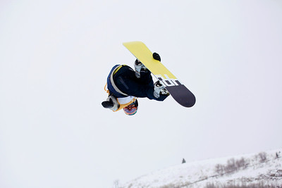 Zach Black Halfpipe qualifications 2013 Sprint U.S. Snowboarding Grand Prix in Park City, Utah Photo: Sarah Brunson/U.S. Snowboarding