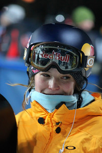 Maddy Schaffrick Women's Snowboarding halfpipe training 2013 X-Games in Aspen, Colorado Photo: Lauren Loberg/USSA