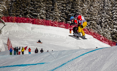 2013 FIS Snowboardcross World Cup - Lake Louise, Canada