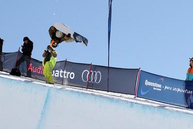 2013 FIS Halfpipe Snowboarding World Cup - Cardrona, New Zealand