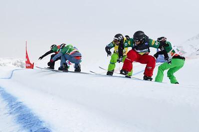 2013 FIS Snowboardcross World Cup - Montafon, Austria