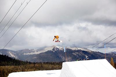 Erik Willett 2013 U.S. Snowboarding Spring Camp at Mammoth, CA Photo: Sarah Brunson/U.S. Snowboarding