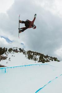 Scotty Lago 2013 U.S. Snowboarding Spring Camp at Mammoth, CA Photo: Mark Epstein/U.S. Snowboarding