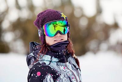 Elena Hight 2013 U.S. Snowboarding Spring Camp at Mammoth, CA Photo: Sarah Brunson/U.S. Snowboarding