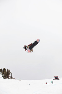 Scotty Lago 2013 U.S. Snowboarding Spring Camp at Mammoth, CA Photo: Sarah Brunson/U.S. Snowboarding