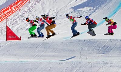 2014 FIS Snowboardcross World Cup - Vallnord, Andorra