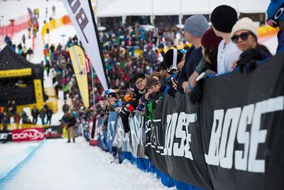 Halfpipe finals 2015 Sprint U.S. Snowboarding Grand Prix at Park City Mountain Resort, Park City, Utah. Photo: USSA