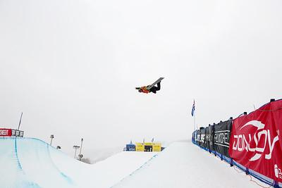Taylor Gold Halfpipe qualifications 2015 Sprint U.S. Snowboarding Grand Prix at Park City Mountain Resort in Park City, UT Photo: USSA