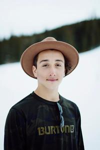 Gabe Ferguson 2014-15 U.S. Snowboarding Team Photo: USSA