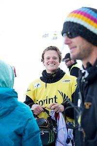 2014 Sprint U.S. Snowboarding Grand Prix at Copper Mountain, CO. Halfpipe snowboarding finals Photo: Sarah Brunson/U.S. Snowboarding