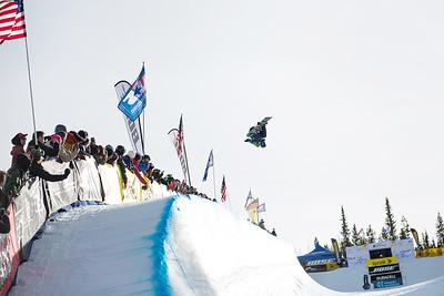 Kelly Clark 2014 Sprint U.S. Snowboarding Grand Prix at Copper Mountain, CO. Halfpipe snowboarding finals Photo: Sarah Brunson/U.S. Snowboarding