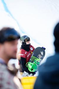 Taylor Gold 2014 Sprint U.S. Snowboarding Grand Prix at Copper Mountain, CO. Halfpipe snowboarding finals Photo: Sarah Brunson/U.S. Snowboarding