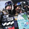 Maddie Mastro and Chloe Kim<br /> 2016 U.S. Snowboarding Grand Prix at Park City<br /> Snowboard Pipe Finals<br /> Photo: Melanie Harding