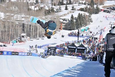 Arielle Gold 2016 U.S. Snowboarding Grand Prix at Park City Snowboard Pipe Finals Photo: Melanie Harding