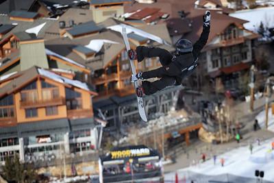 2015 Rev Tour at Copper Mountain, CO. Halfpipe Snowboarding Photo © Tripp Fay