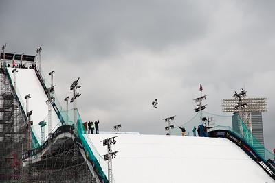 Eric Willett Snowboard training 2016 Polartec Big Air at Fenway U.S. Snowboarding Grand Prix Photo: U.S. Snowboarding