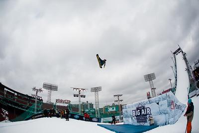 Chas Guldemond Snowboard training 2016 Polartec Big Air at Fenway U.S. Snowboarding Grand Prix Photo: U.S. Snowboarding