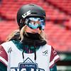 Jesskia Jenson<br /> Snowboard qualifiers<br /> 2016 Polartec Big Air at Fenway U.S. Snowboarding Grand Prix<br /> Photo: U.S. Snowboarding