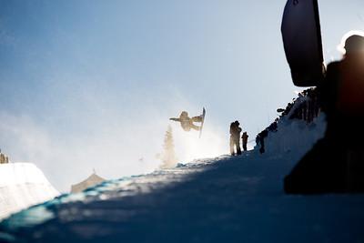 Elena Hight Snowboard halfpipe finals 2016 U.S. Snowboarding Grand Prix at Mammoth Photo: U.S. Snowboarding