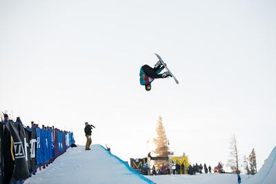 Ben Ferguson Snowboard halfpipe finals 2016 U.S. Snowboarding Grand Prix at Mammoth Photo: U.S. Snowboarding
