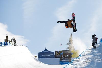 Snowboard halfpipe finals 2016 U.S. Snowboarding Grand Prix at Mammoth Photo: U.S. Snowboarding