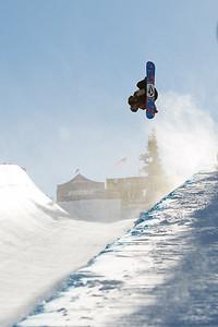 Gabe Ferguson Snowboard halfpipe finals 2016 U.S. Snowboarding Grand Prix at Mammoth Photo: U.S. Snowboarding