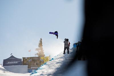 Chase Josey Snowboard halfpipe finals 2016 U.S. Snowboarding Grand Prix at Mammoth Photo: U.S. Snowboarding