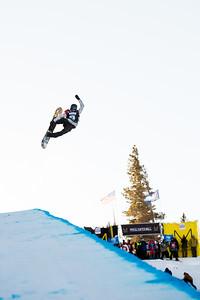 Kelly Clark Snowboard halfpipe finals 2016 U.S. Snowboarding Grand Prix at Mammoth Photo: U.S. Snowboarding