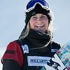 Maddie Mastro<br /> Snowboard halfpipe finals<br /> 2016 U.S. Snowboarding Grand Prix at Mammoth<br /> Photo: U.S. Snowboarding