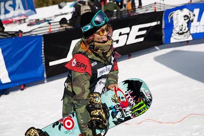 Chloe Kim Snowboard halfpipe finals 2016 U.S. Snowboarding Grand Prix at Mammoth Photo: U.S. Snowboarding